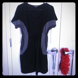Delirious black & grey Dress W/ pockets